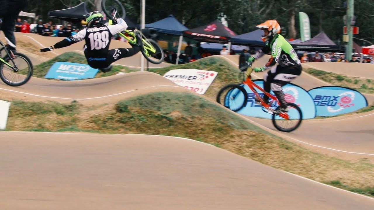 BMX STATE TITLES - HUGE CRASHES!