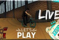 BMX The Game Live with T1C3 & friends [Funny Moments]