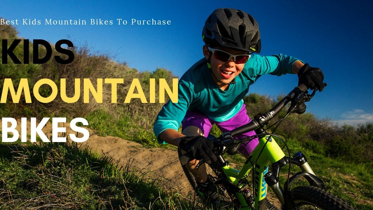 Best Kids Mountain Bikes To Purchase