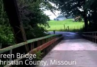 Bike Ride Detour Route for Riverside Bridge Ozark Missouri