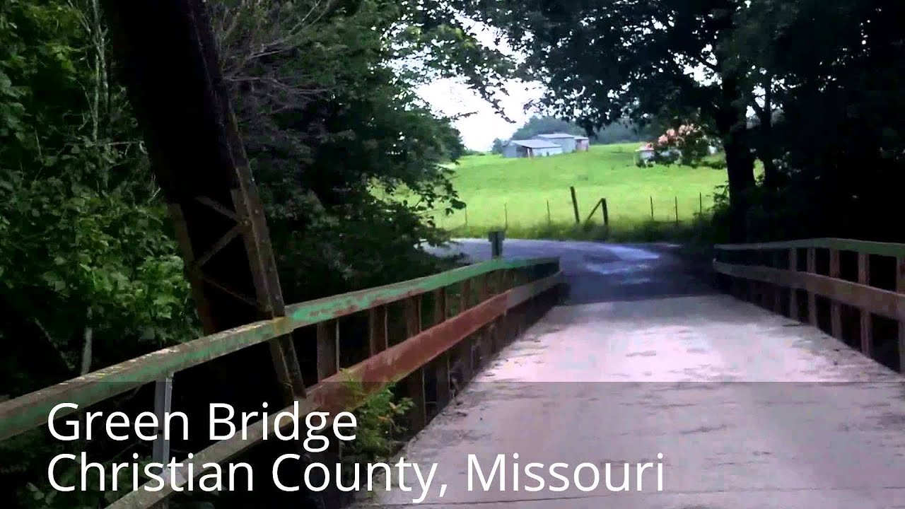 Bike Ride Detour Route for Riverside Bridge Ozark Missouri