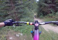 Bikepark Kyčerka - blue trail (having fun)