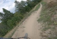 Bikepark preview - Kyčerka - blue trail (both variants)