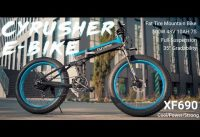 Cyrusher XF690 All Terrain Fat Tire Electric Bike 2019