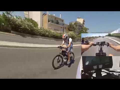 E bike Capable of 100  kmph
