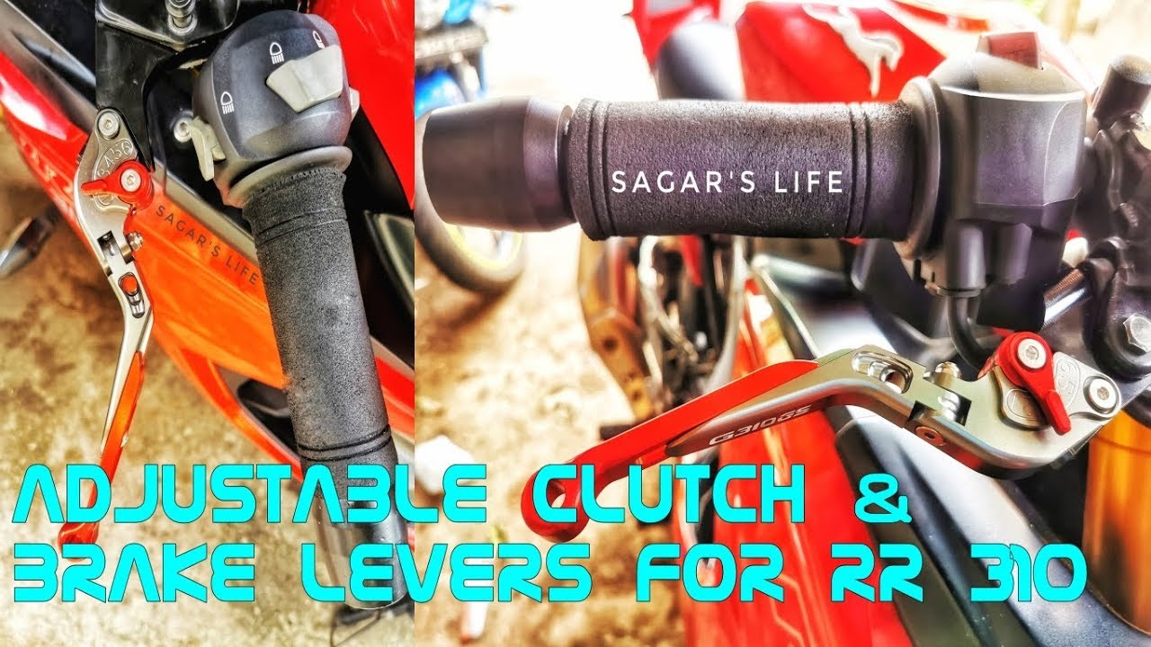 Easiest Way To Install Adjustable Clutch & Brake levers On Apache RR 310 | Complete Guide