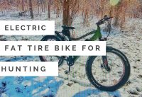 Electric Hunting Bike | Checking Trail Cameras