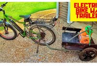 Electric Hunting Bike with Trailer - Checking for EHD