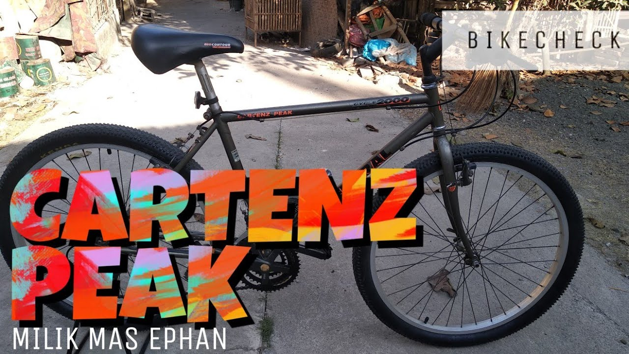 Federal Cartenz Peak Bike Check Sepeda MTB Milik mas Ephan