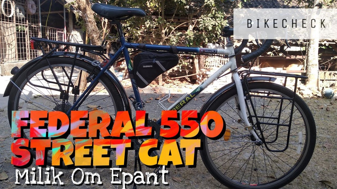 Federal Street cat 550 Bike check Sepeda MTB Vintage milik mas Ephan