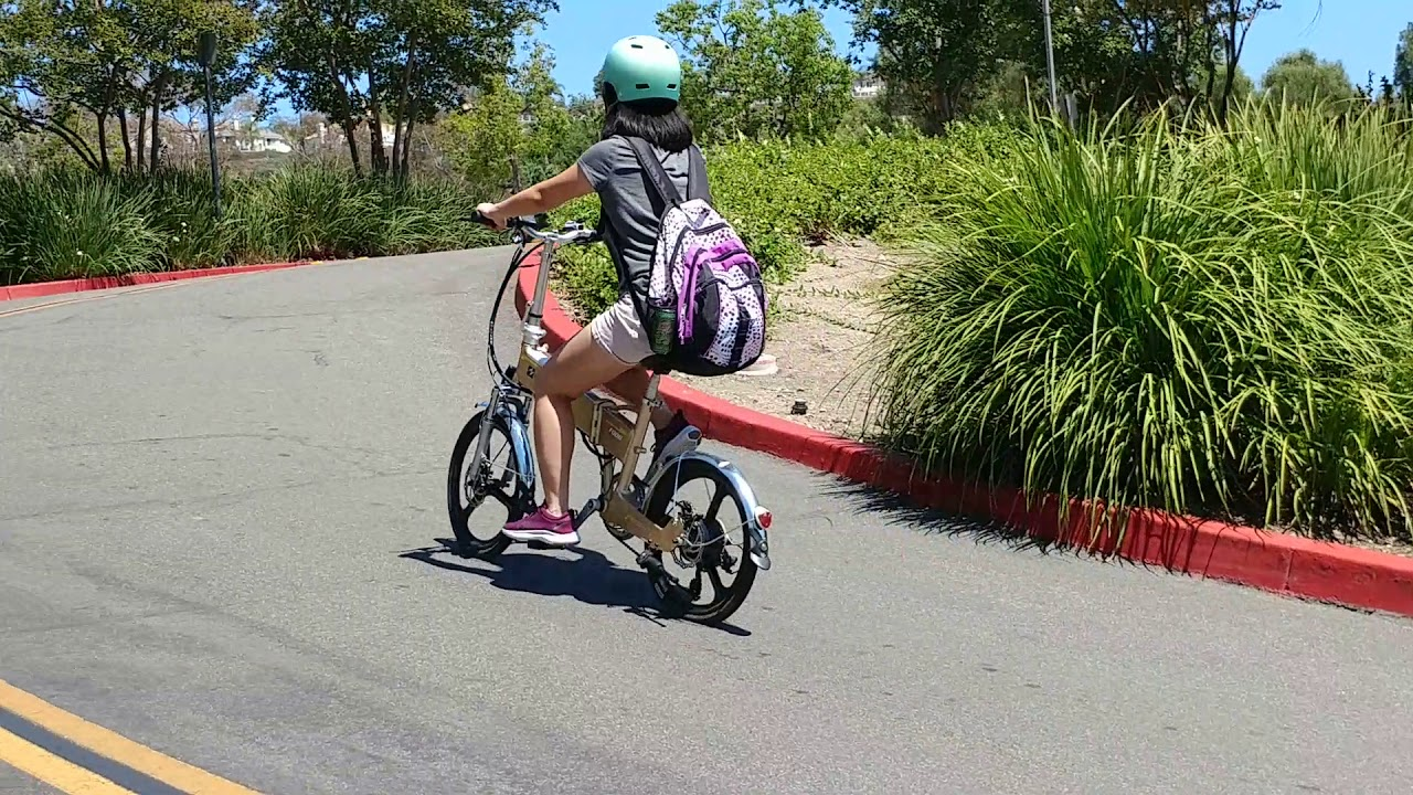 Folding electric bikes,  Low rider for teen, ladies, students, seniors.