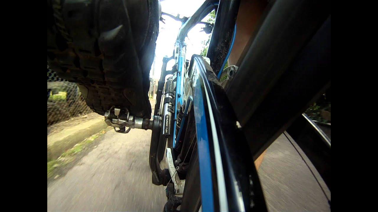 GoPro Mountain Bike Mounting Test: Rear stay