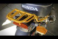 Honda Monkey Rear Storage Rack Install