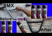 How to change color your handlebar Bmx