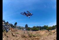 Jumps at the 2013 Santa Cruz Mountain Bike Festival