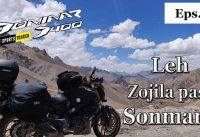 Leh Ladakh Bike Trip - Day 8 leh to sonmarg  ||RRD||