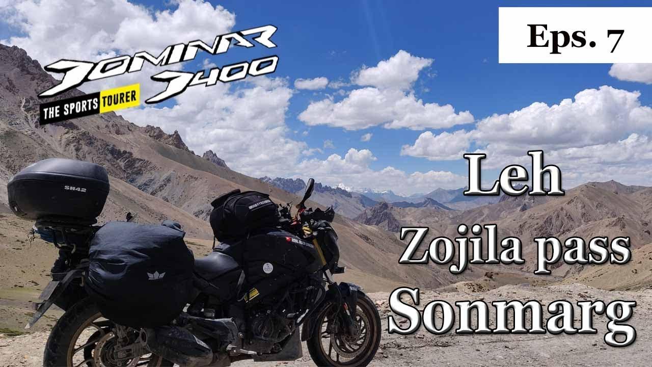 Leh Ladakh Bike Trip - Day 8 leh to sonmarg  ||RRD||