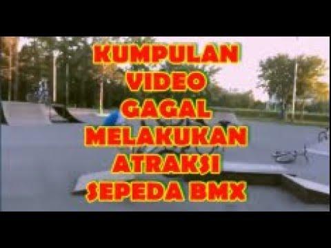 Lucu Sekaligus Menyedihkan, Kumpulan Video Gagal Dalam Melakukan Atraksi Sepeda BMX