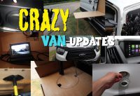 MTB Plan B - Crazy Van updates since inaugural trip!