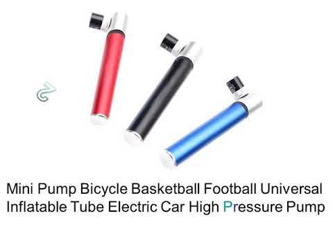Mini Bike Pump Reviews -  Small Air Pump For Bike