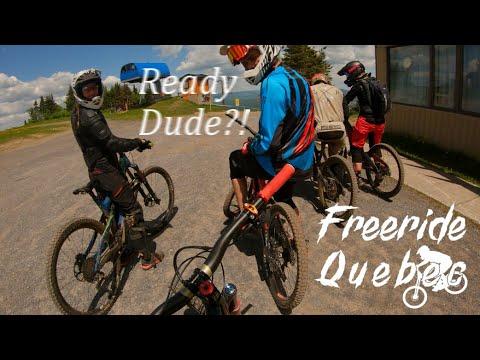 Mont-Sainte-Anne Bike Park Opening Day Was a BLAST!
