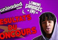 ON FAIT GAGNER 100 EUROS DE PIECES DE BMX A UN ABONNÉ !!! - résultats concours unleaded bmx #2