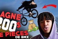ON FAIT GAGNER 200 EUROS DE PIECES DE BMX !!!!!!! - CONCOURS UNLEADEDBMX #1