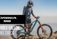 Orbea Rallon Bike Check I Orbea Enduro Team