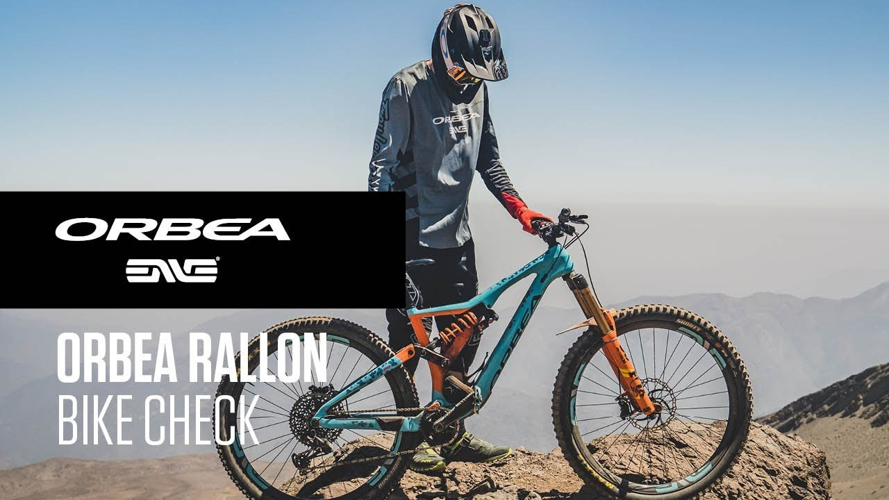 Orbea Rallon Bike Check I Orbea Enduro Team