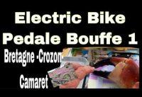 PB1.Electric Bike Trekking : Pedale Bouffe 1 : Crabe à CROZON ( 70km)