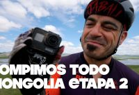 ROMPIMOS TODO | ETAPA 2 MONGOLIA BIKE CHALLENGE | Valentí Sanjuan