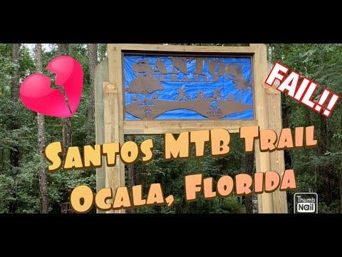 Santos Mountain Bike Trail (Ocala, Florida) Part 1.......Major Fail!!!