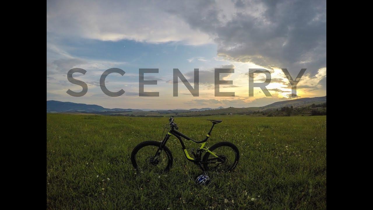 Scenery with my bike, 2019