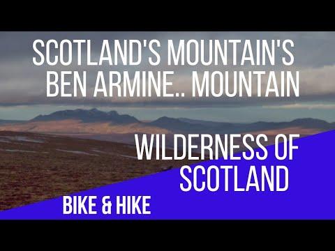 Scotland's Mountain's,Ben Armine Walk,Hike And Bike In The Highlands Of Scotland,Sutherland