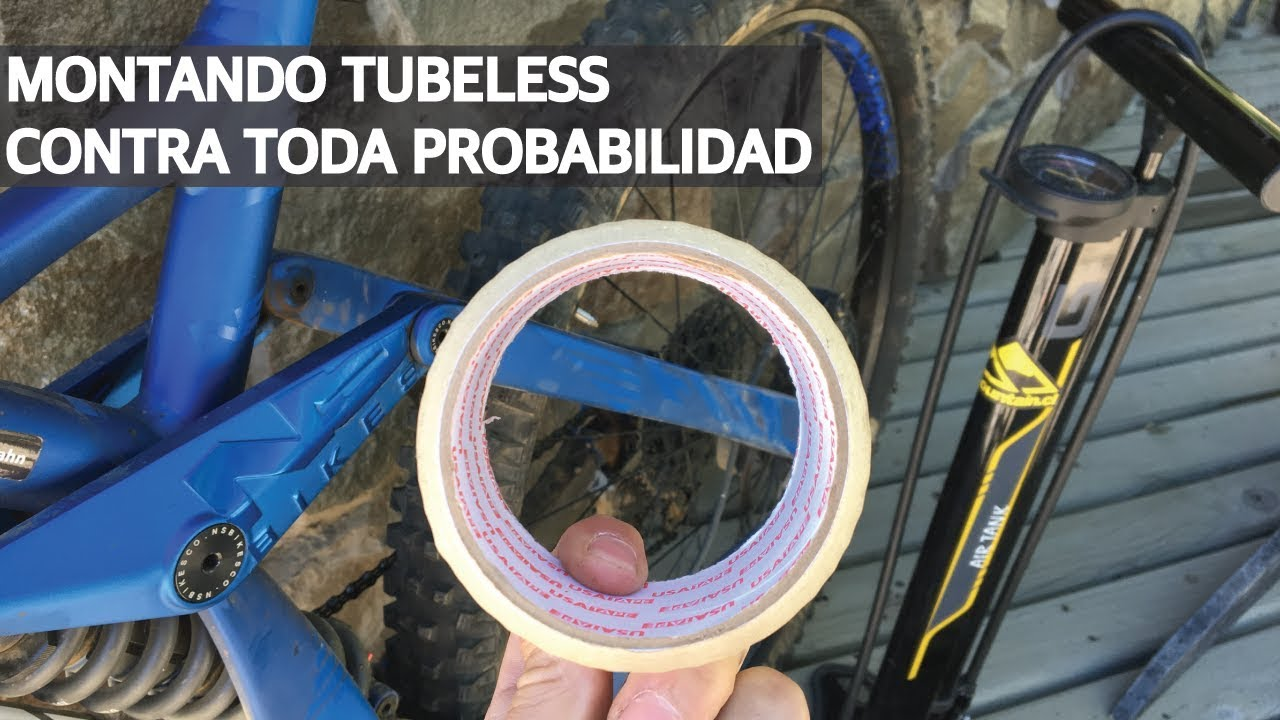 Tip #16 - Montar un Tubular! Repara tus tubeless como y donde sea con tape!