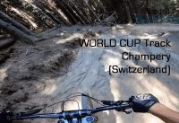 Training Champery World Cup Track - full GoPro Run