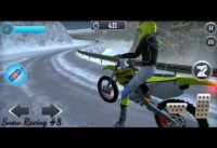 Ultimate snow game play bike racing #8