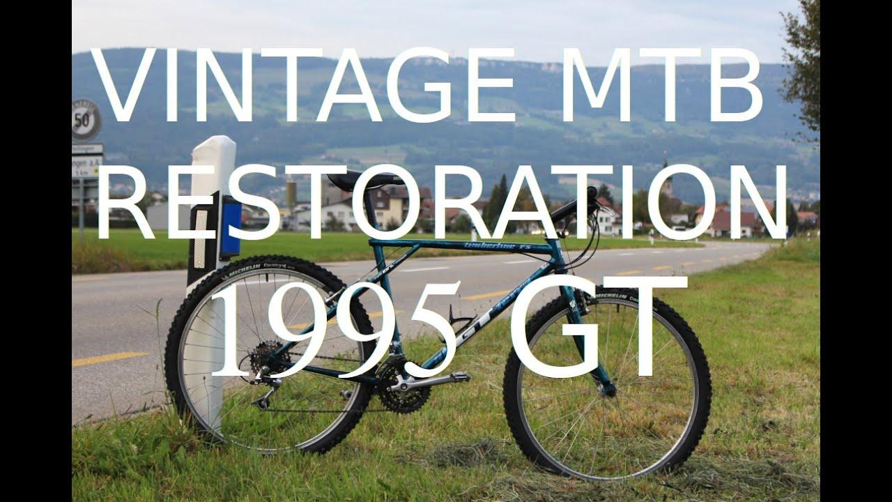 1995 Vintage MTB Restoration