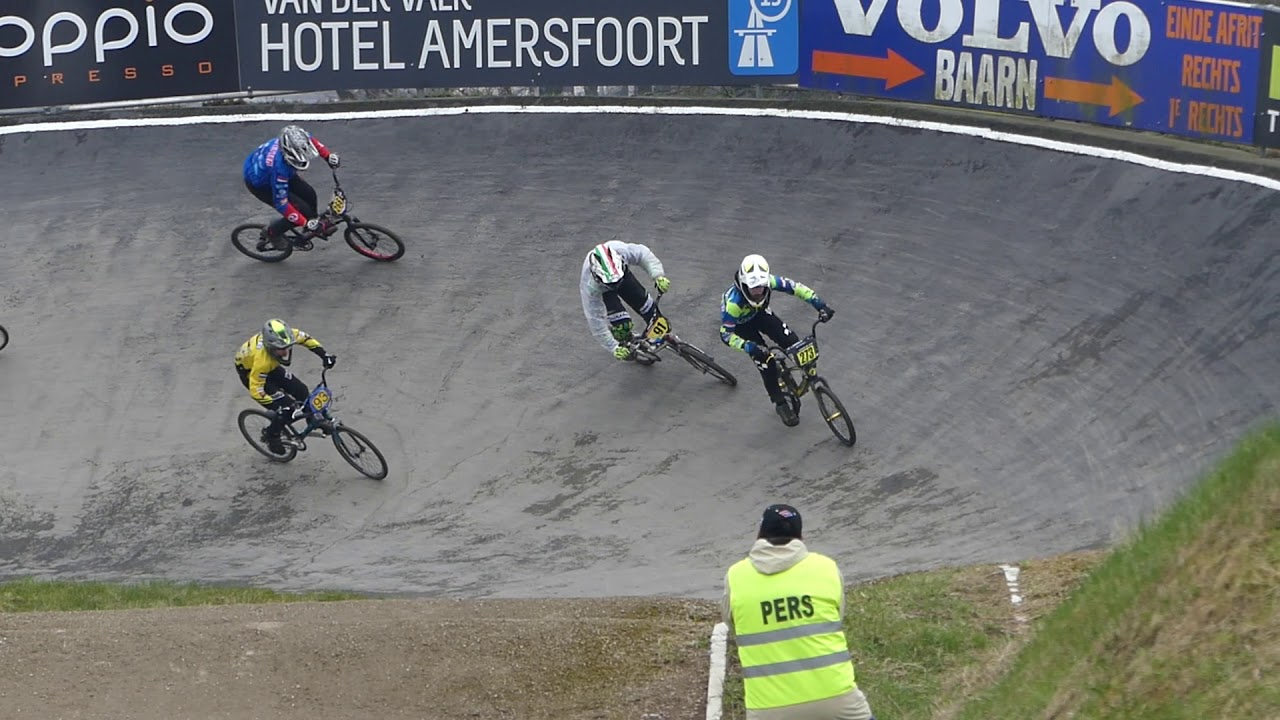 2018 04 01 BMXTrofee West Baarn race 120 B finale Boys 13 en Girls 14