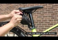 BV Bicycle Y Series Strap On Bike Saddle Bag