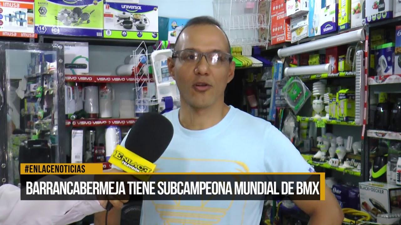 Barrancabermeja tiene subcampeona mundial de BMX