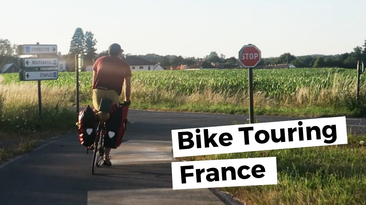 Bicycle Touring France - Exploring Abandoned Building