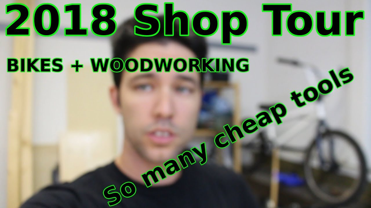 Bike shop tour - it's also a wood and general shop too