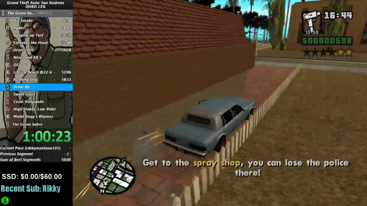 CAR + BMX = Backflip - Grand Theft Auto: San Andreas