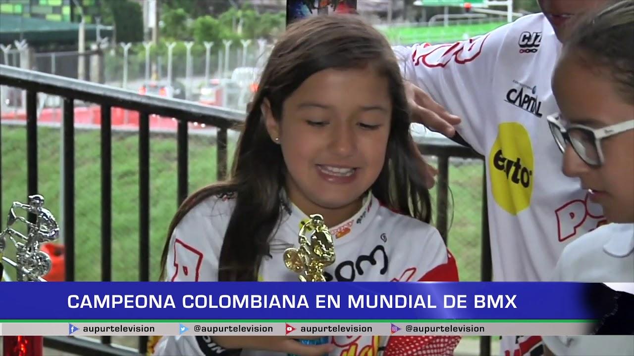 Campeona colombiana en Mundial de BMX