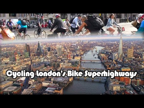 Cycling London's Bicycle Super Highways