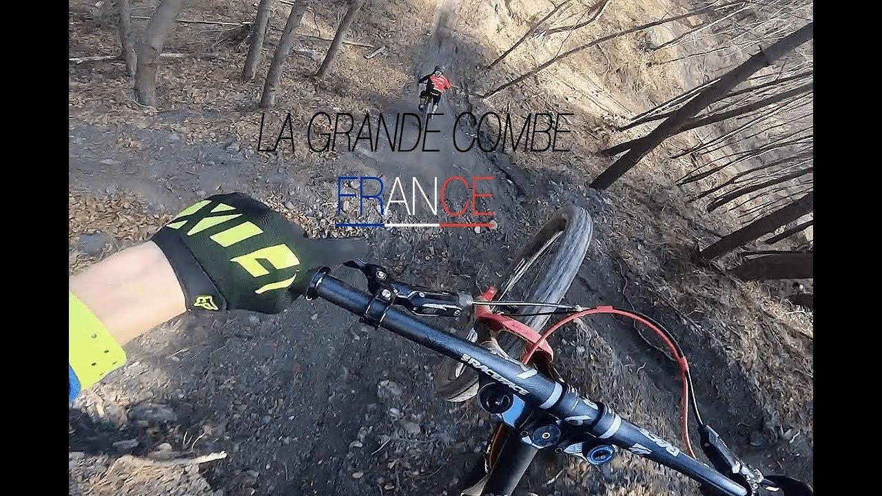 DH - la Grand Combe (Fance) - Full Run