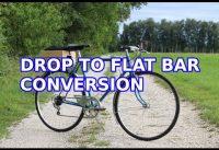 Drop to flat handle bar converstion