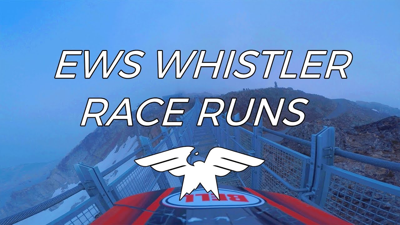 EWS WHISTLER Race Runs