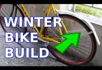 Easy DIY wood rear bike fender (With just shop scrap!)